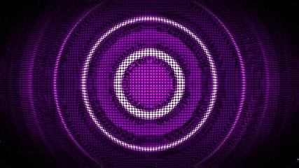 Purple Futuristic Blob Circle looped