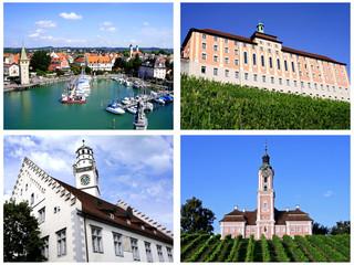 BODENSEE ( Lindau + Meersburg + Ravensburg + Birnau )