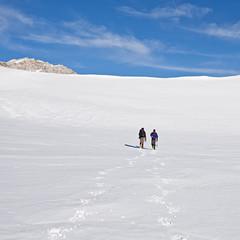 Trekking sulla neve nel Parco Nazionale dei Monti Sibillini