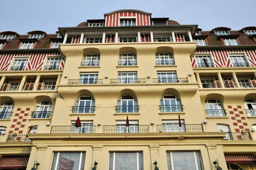 France, Royal Barriere hotel in Deauville