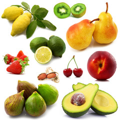 frutta mix collage