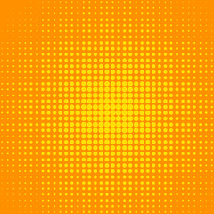 Dotted Sunny background