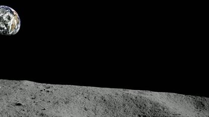 Terre - depuis la Lune (focale:80mm)