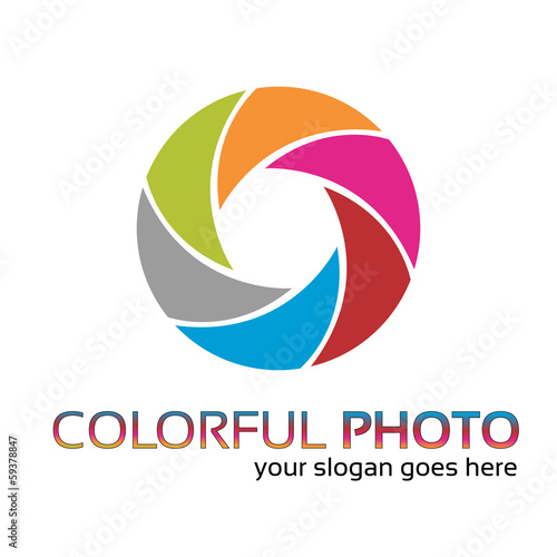 Colorful foto logo