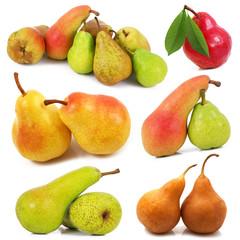 collage di pere