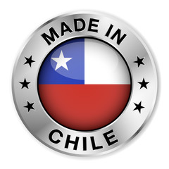 Made In Chile Silver Badge