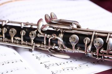 Teil einer Oboe