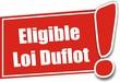étiquette éligible loi Duflot