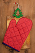 potholder and cutting board