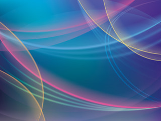 Abstract colorful background with stripes.