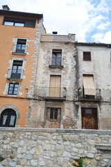 House in the medieval quarter of Girona