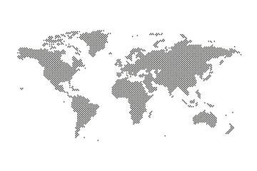 Welt Karte Punkte