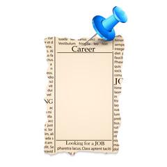 Job Classified in Newspaper