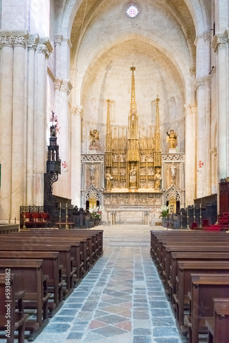 Cathedral of Saint Mary Tarragona in Spain