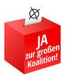 Ja zur großen Koalition