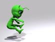 Alieno - colpito da davanti