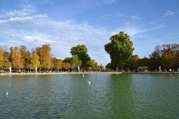 Jardines de las Tullerías en París