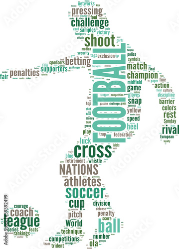 tag cloud del football