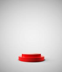 red podium