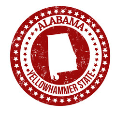 Alabama stamp