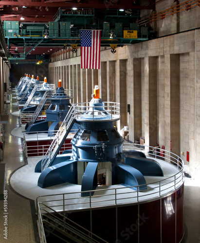 Hoover Dam Powerhouse Generators