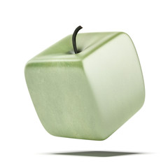 cubic apple fruit