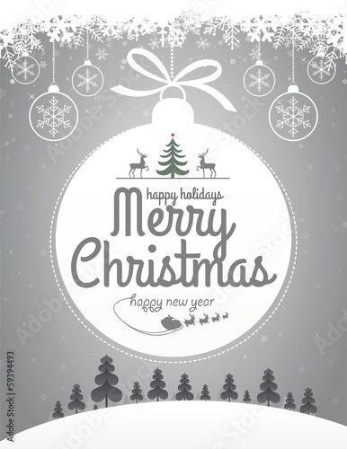 Christmas Message Design