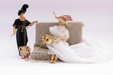 La sposa in salotto