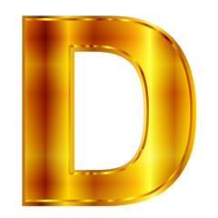 d  エンブレム 金