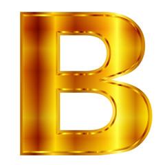 b  アルファベット エンブレム