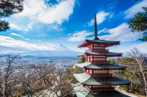 Foto op Plexiglas Japan Mount Fuji