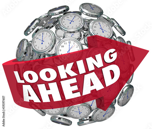 Looking Ahead Time Clock Forecasting Prediction Future