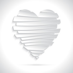 White Broken Heart