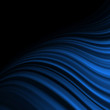 Abstract background with blue flow. EPS 10