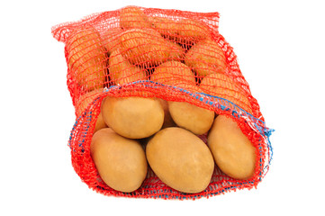 potatoes in bag