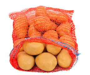 potatoes in red bag