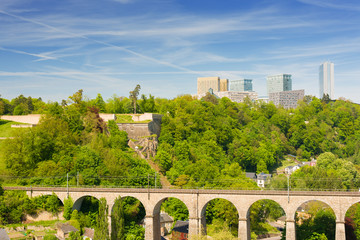 Luxembourg in summer day