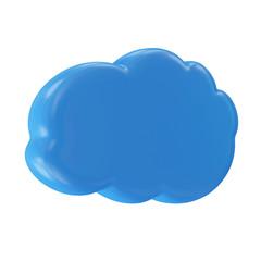 Cloud Computing Symbol isolated on white background