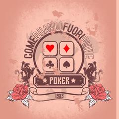 old poker 1983