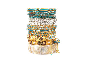 Colourfull Indian Bangles.