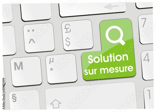 clavier solution sur mesure