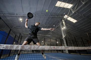 Paddle tennis smash