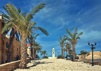 Old town of Jaffa, Israel.