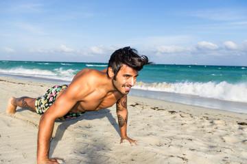 push up training in miami beach