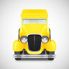 Retro car icon