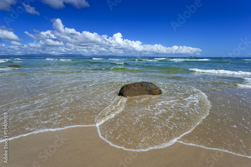 Clarks beach in Byron bay in Australien