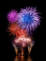 Prachtvolles Feuerwerk