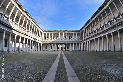 Foto op Canvas Milan Milano - via Senato - cortile Archivio di Stato
