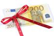 Etrennes, cadeau, 200 euros
