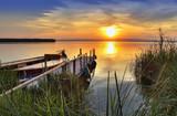 desde la orilla del lago